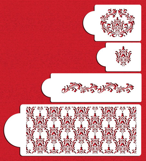 Filigree Damask Set C550