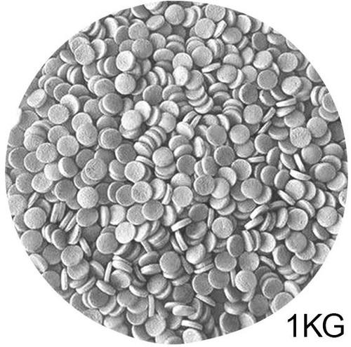 Bulk Sprinkles 1KG - SILVER SEQUINS