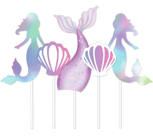 Cake Topper - MERMAID 5PC