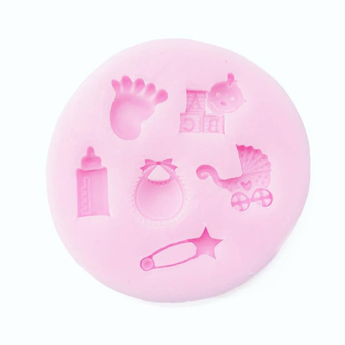 Silicone Mold - ASSORTED BABY 6PC