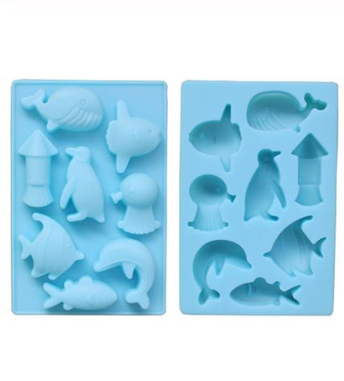 Silicone Mold - SEA ANIMALS