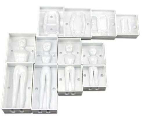 Plastic Mold - 3D FAMILY BODY SET