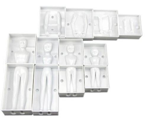 Plastic Mold - 3D FAMILY BODY SET