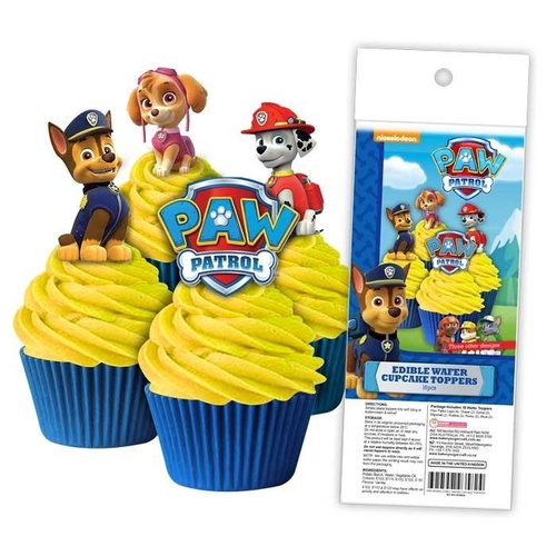 Edible Wafer Toppers - PAW PATROL 16PC