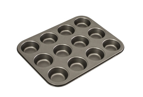Bakemaster / Muffin Pan - 12 Cup 35cm X 27cm