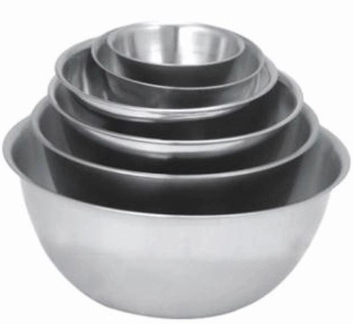 Professional Mixing Bowls - STAINLESS STEEL 6PC
