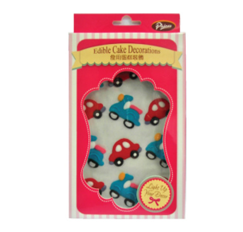 "Cake Decoration ""Cars & Scooters"""
