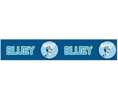 Novelty Ribbon - BLUEY (NAVY) 25mm