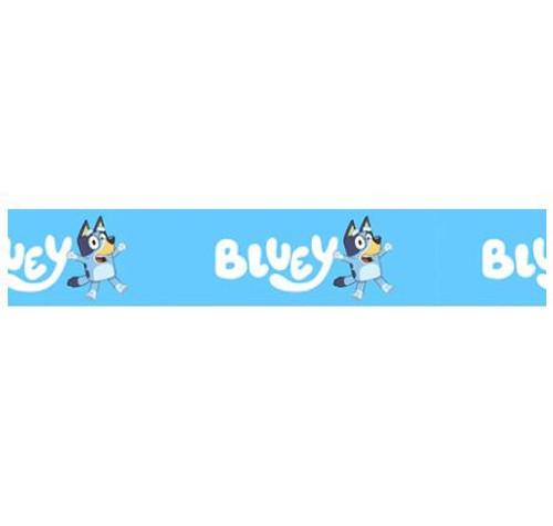 Novelty Ribbon - BLUEY (SKY BLUE) 25mm