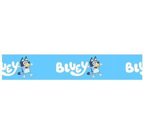 Novelty Ribbon - BLUEY (SKY BLUE) 25mm
