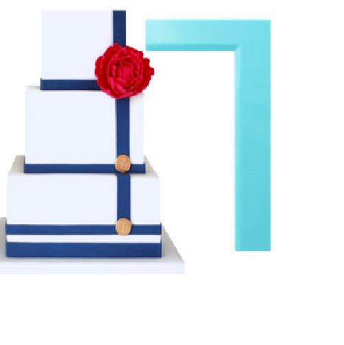 Plastic Cake Scraper - Flat Edge