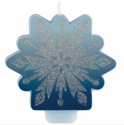 Frozen 2 Snowflake Candle