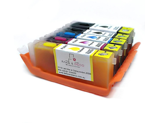 Edible Ink Cartridges Set of 5 ( 680 / 681 )