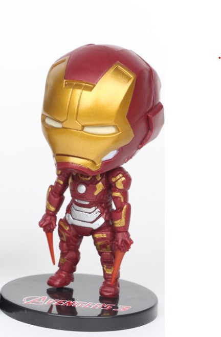 Cake Topper - Iron Man Figurine