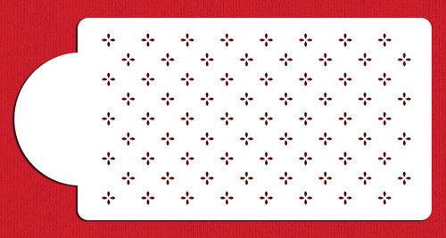 Designer Stencil Mini Swiss Dot C546