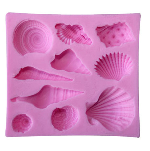 Mixed Sea Shells Silicone Mold