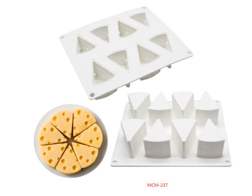 Silicone Mold - Swiss Cheese /8 Cavity