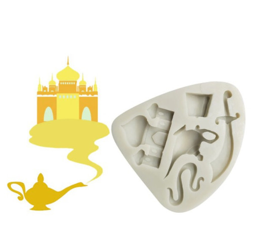 Silicon Mold- Aladdin Theme