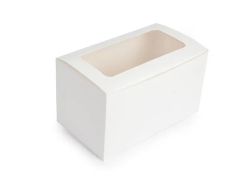 Cupcake Box with Inserts - 2 CAVITY