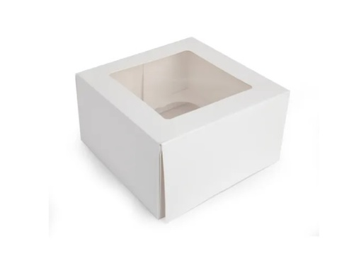 Cupcake Box with Inserts - 4 CAVITY