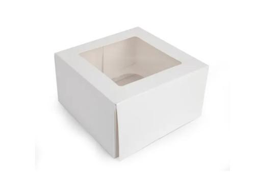 Cupcake Box with Inserts - 4 CAVITY