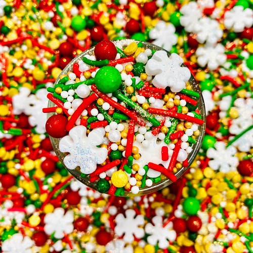 Classic Christmas Sprinkles 100g