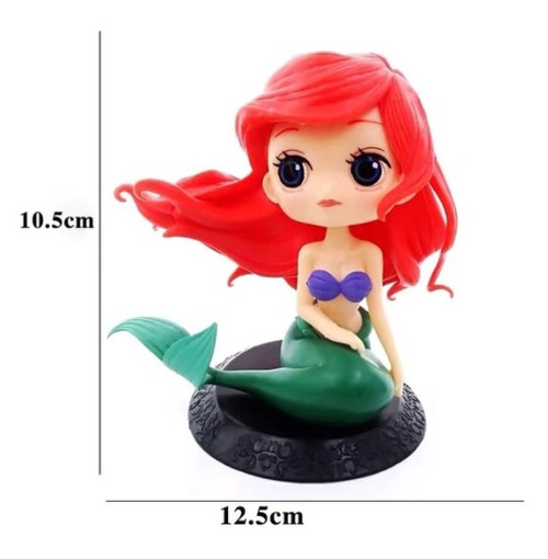Cake Topper - ARIEL Mermaid Figurine