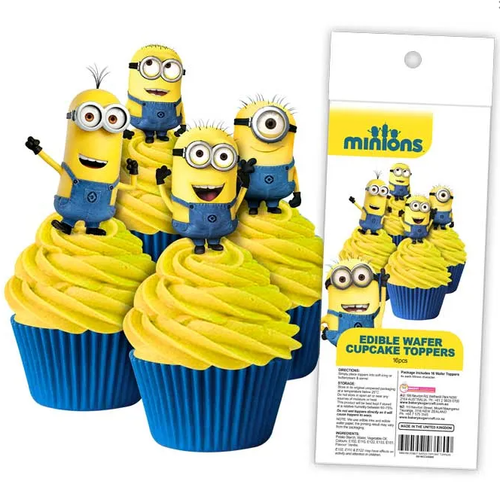 Edible Wafer Toppers - MINIONS