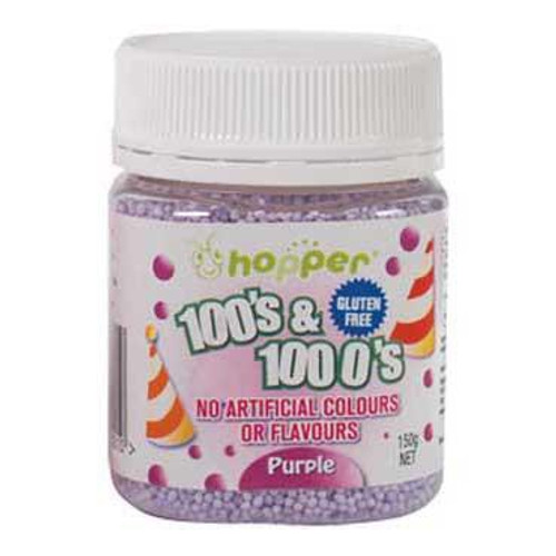 Natural 100's & 1000's Hopper 150g - PURPLE