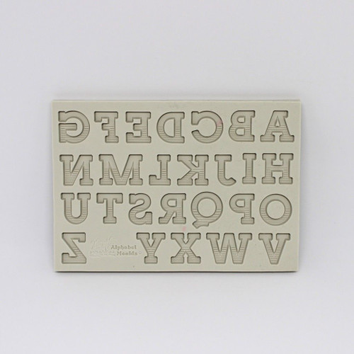 80's Stripy font Silicone Mold