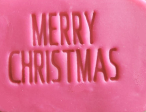 Cookie Embosser - 'Merry Christmas' (Bold)