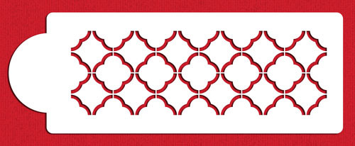 Quatrefoil Outline C718v