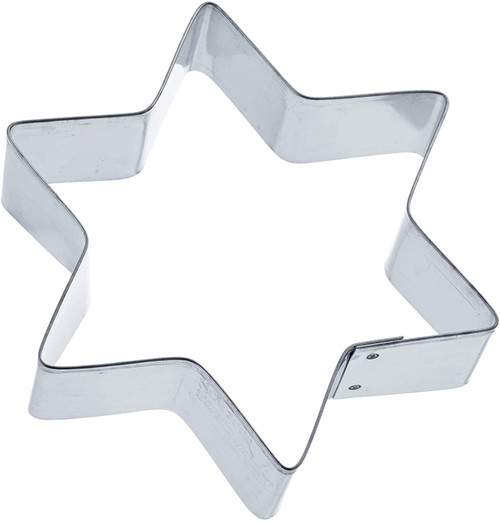 Tin Plate Cutter- 6-Pointed Star