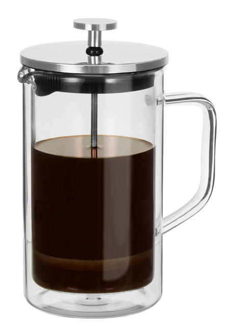 Capri Double Wall Coffee Plunger - 4 Cup / 600ml