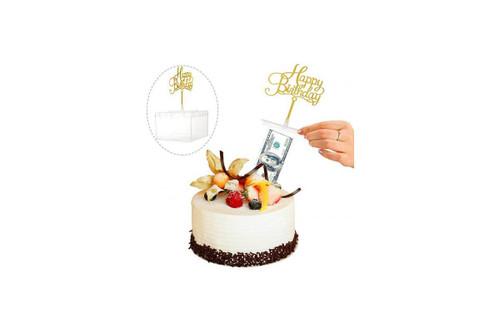 Cake Money Box
