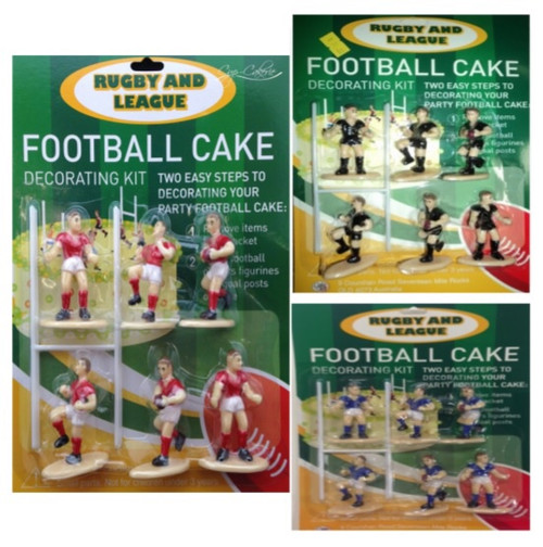 Rugby/League Figurine Cake Toppers