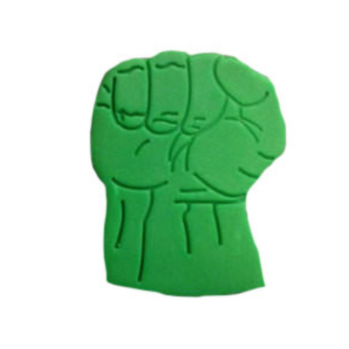 Plastic Cookie Cutter and Embosser – Marvel Hulk Fist