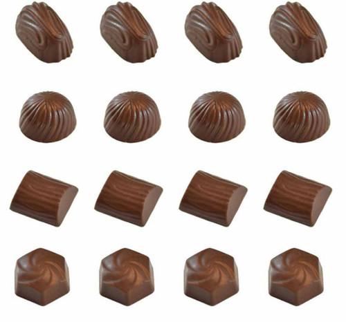 Plastic Chocolate Mold-DEEP FILL SWIRLS