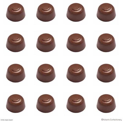 Round Liqueurs Chocolate Mold