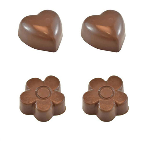 Flowers & Hearts Chocolate mold