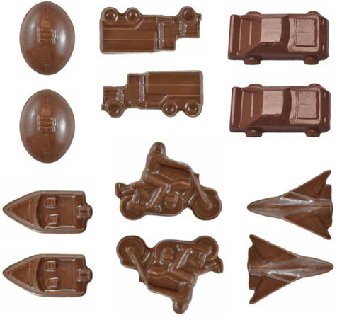 Cars / Trucks / Planes / Motorbike / Boats Chocolate mold