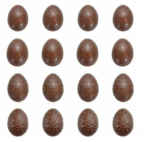 Easter Eggs Extra Small Chocolate Mold