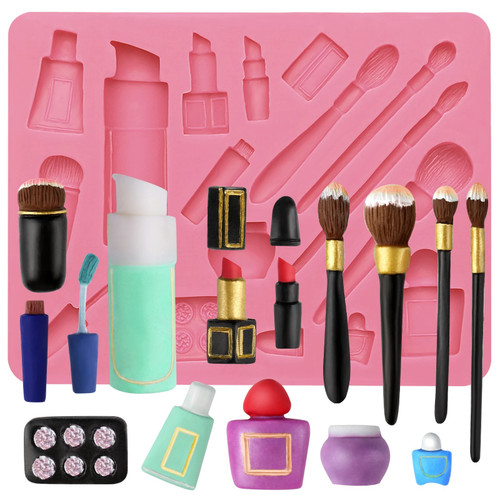 Complete Make Up Tools Silicon Mold