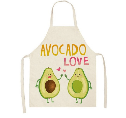 Avocado Love Linen Apron