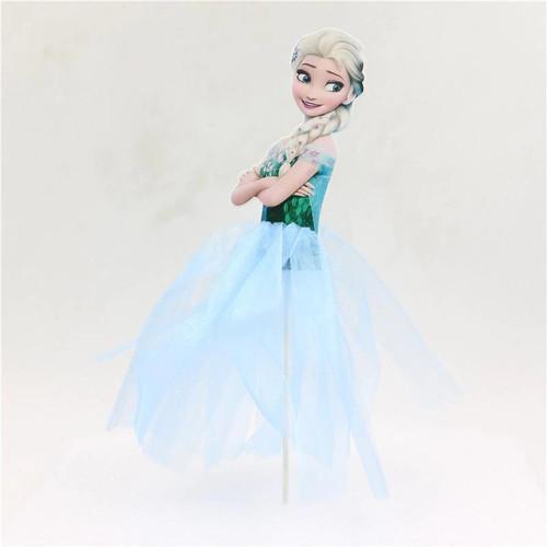 Cake Topper - Elsa (Style 2)