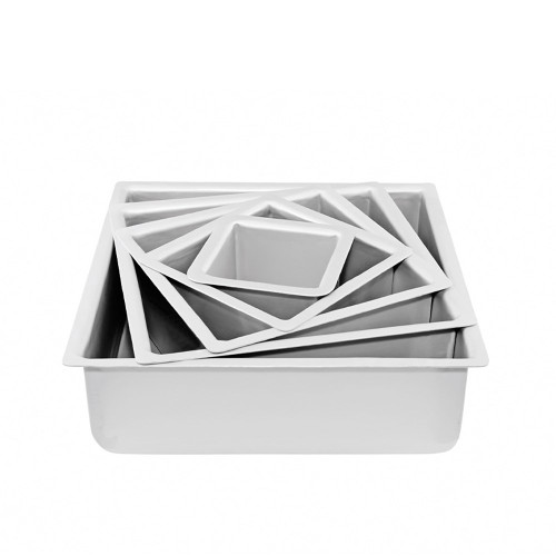"Cake Tin Square MONDO - 4"" x 4"" DEEP"
