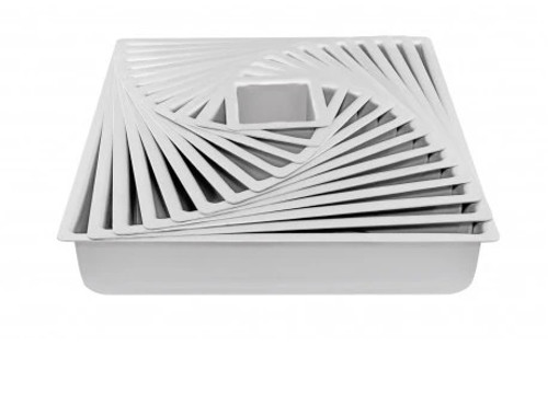 "Cake Tin Square MONDO - 10"" x 3"" DEEP"