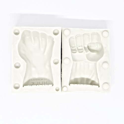 Silicone Mold 2pc- 3D HULK FIST