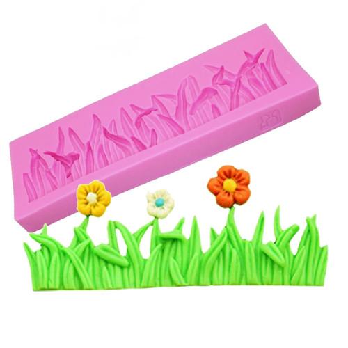 Silicone Mold-Grass