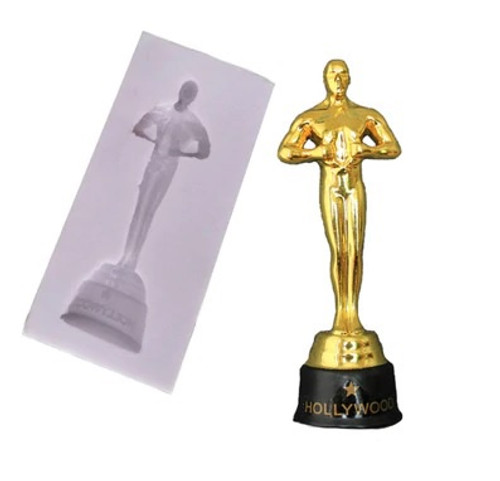 Silicone Mold - Oscar Trophy